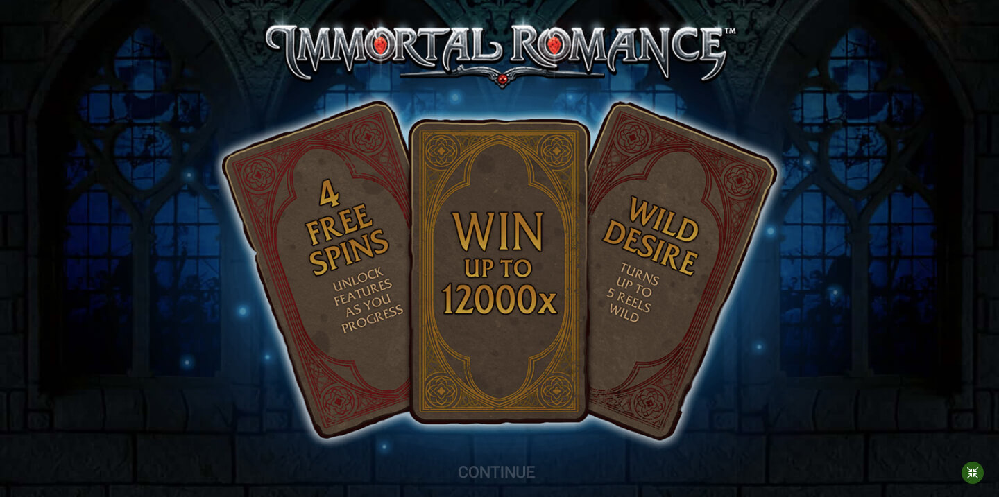 Immortal romance Slot (Microgaming)