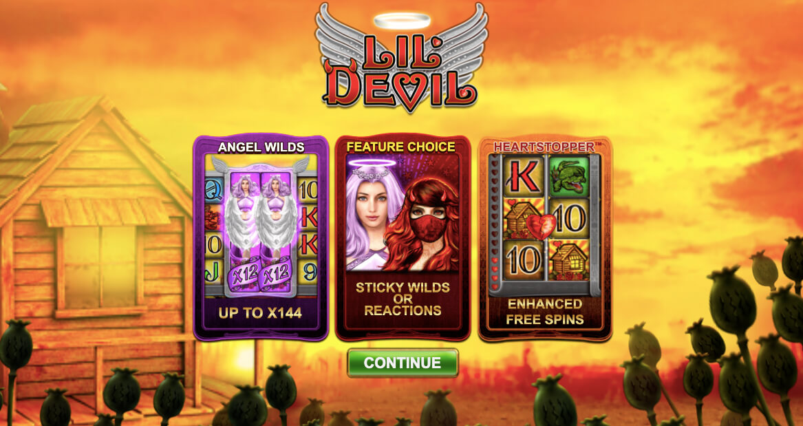 Lil devil Online Slot (Big Time Gaming)