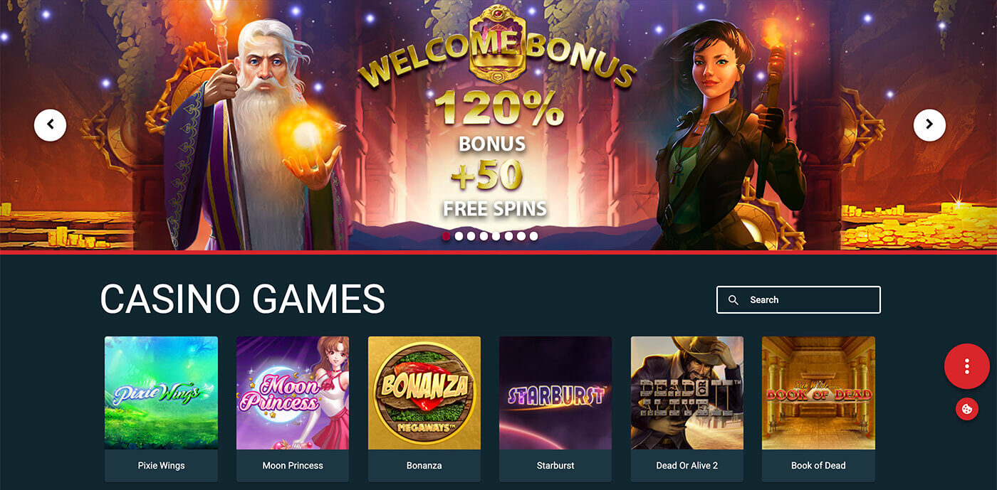 play pcf casino welcome bonus