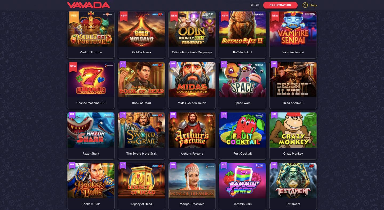 vavada casino slots