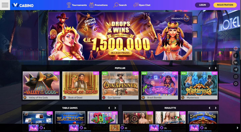 ivi casino gambling site