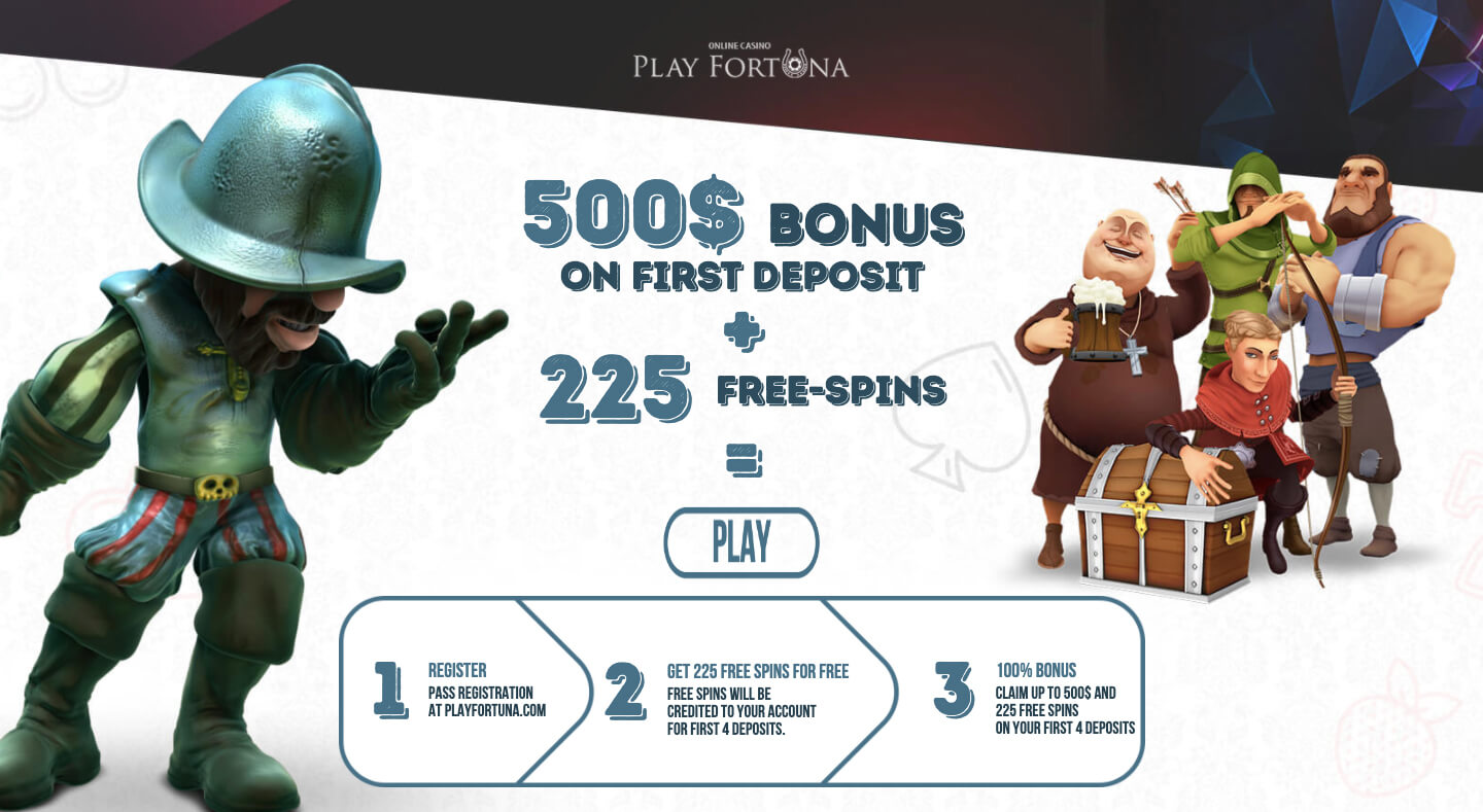 playfortuna bonus welcome pack