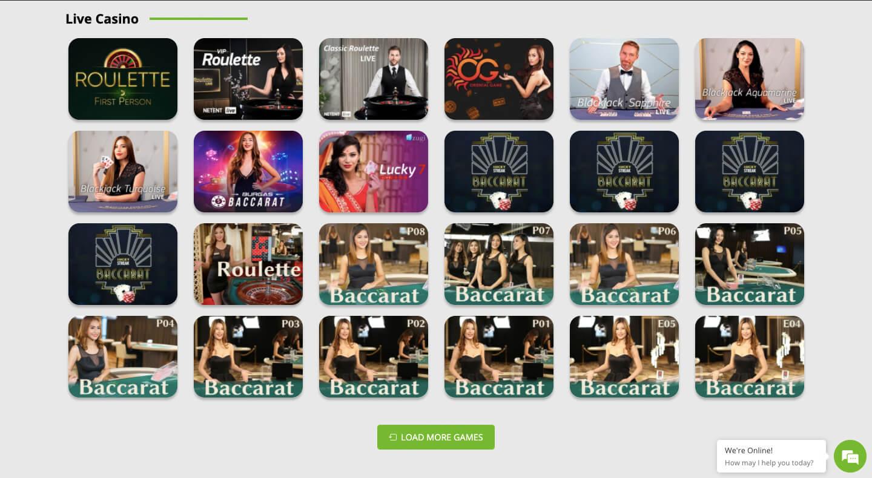 betpat casino live games